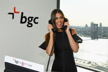 Iris Mittenaere Annual Charity Day Hosted By Cantor Fitzgerald, BGC and GFI - BGC Office - Inside