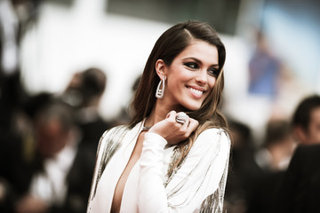 Iris Mittenaere Alternative View In Colour - The 71st Annual Cannes Film Festival