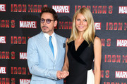 Gwyneth Paltrow and Robert Downey Jr. Photos Photo