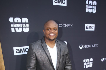 Irone Singleton 'The Walking Dead' 100th Premiere and Party