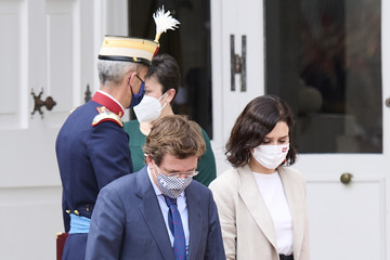 Isabel Diaz Ayuso Spanish Royals Receive President Of South Corea