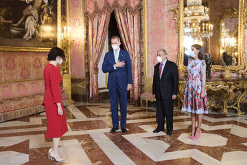 Isabel Diaz Ayuso Spanish Royals Host A Lunch For Secretary-General of the United Nations, Antonio Guterres