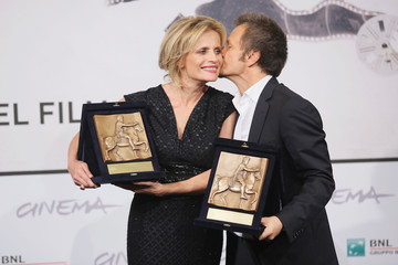 Isabella Ferrari Paolo Franchi Award Winners Photocall - The 7th Rome Film Festival