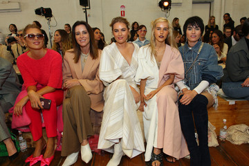 Isabella Manfredi Lee Mathews - Front Row - Mercedes-Benz Fashion Week Australia 2018
