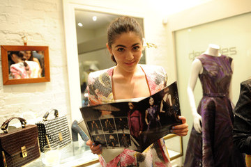 Isabelle Fuhrman Christian Siriano Fall 2014 LA Preview & Cocktail Party