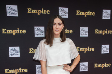 Isabelle Fuhrman Saks Fifth Avenue Empire Fashion Week Event