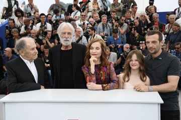 Isabelle Huppert Michael Haneke 'Happy End' Photocall - The 70th Annual Cannes Film Festival