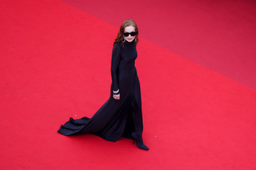 """Isabelle Huppert """"Tout S'est Bien Passe (Everything Went Fine)"""" Red Carpet - The 74th Annual Cannes Film Festival"""