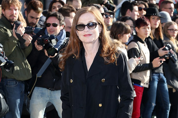 Isabelle Huppert Arrivals at the Louis Vuitton Show