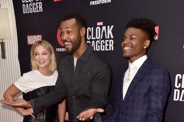 Isaiah Mustafa Freeform And The NAACP Host A Screening For Marvel's 'Cloak & Dagger' - Arrivals