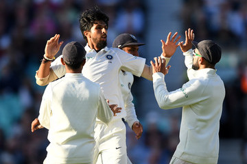 Ishant Sharma England vs. India: Specsavers 5th Test - Day One