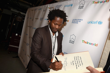 Ishmael Beah Theirworld and UNICEF Unite to Get All Children #UpforSchool
