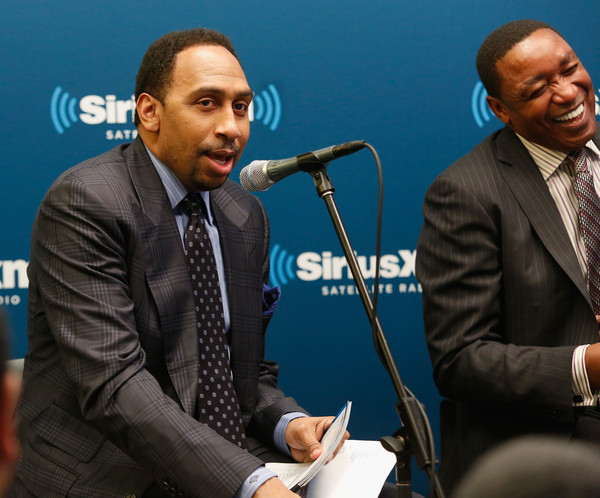 """SiriusXM's """"Town Hall"""" With Clyde Drexler, Isiah Thomas, Dominique Wilkins And Stephen A. Smith"""