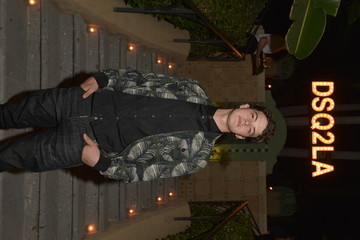 Israel Broussard Dsquared2 Celebrates First Boutique