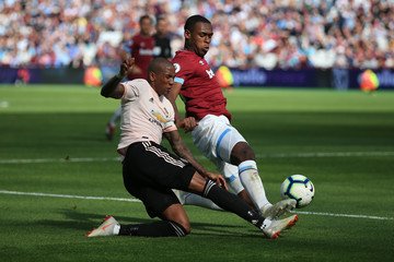 Issa Diop West Ham United vs. Manchester United - Premier League