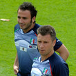 Antonio Cassano and Giampaolo Pazzini Photos