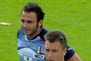 Antonio Cassano and Giampaolo Pazzini Photos Photo