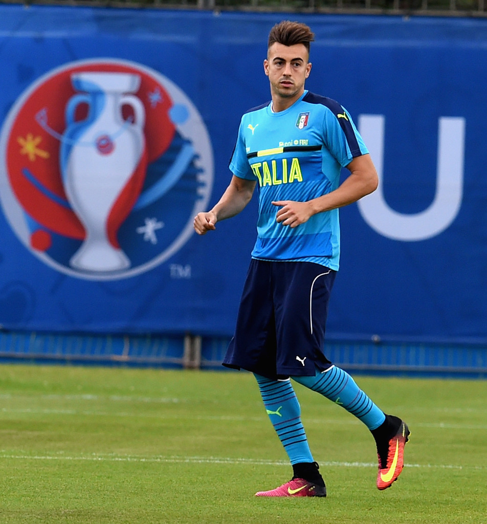 Stephan El Shaarawy s s Italy Training Session & Press