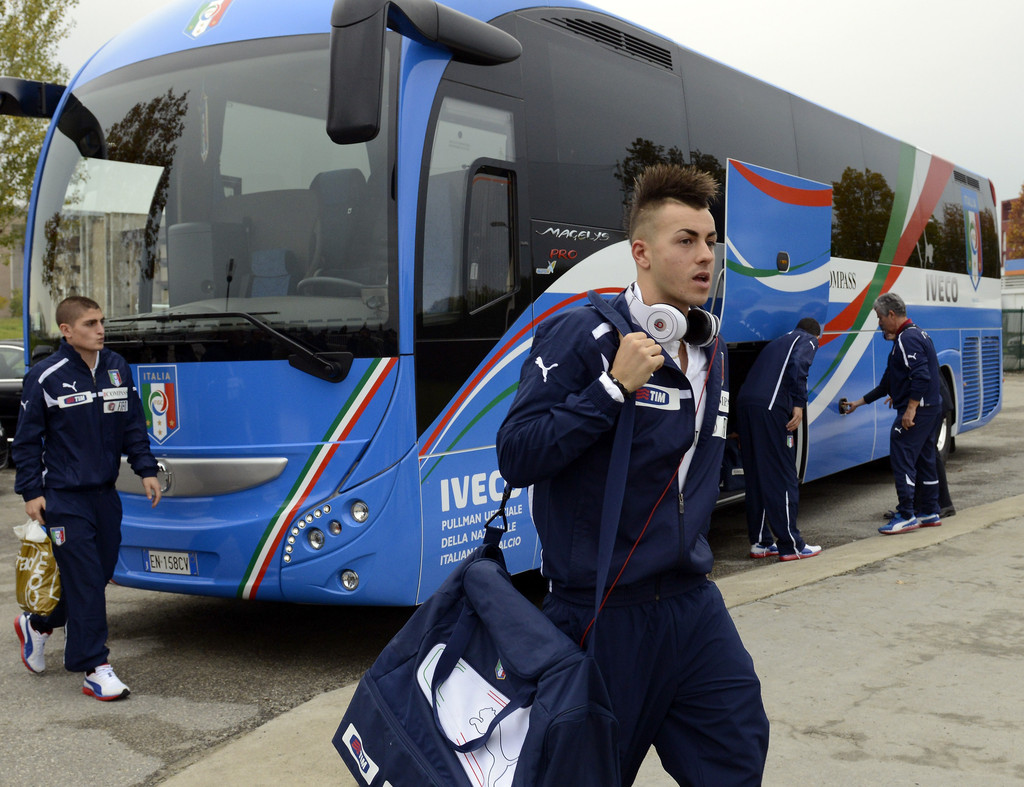 Pleasing Stephan El Shaarawy In Italy Training Session And Press Conference Hairstyle Inspiration Daily Dogsangcom