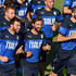 Andrea Pirlo Leonardo Bonucci Photos - (L-R) Andrea Barzagli, Andrea Pirlo and Leonardo Bonucci in action during an Italy training session at Coverciano on August 31, 2015 in Florence, Italy. - Italy Training Session And Press Conference