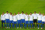 (L to R) Alberto Gilardino Vincenzo Iaquinta Andrea Pirlo Mauro German Camoranesi Daniele De Rossi Fabio Grosso Claudio Marchisio Gianluca Zambrotta Gianluigi Buffon Giorgio Chiellini Fabio Cannavaro Team of Italy pose for the team shot before during the FIFA2010 World Cup Group 8 Qualifier match between Italy and Bulgaria at the Olimpico Stadium on September 9, 2009 in Turin, Italy.