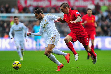 Itay Shechter Swansea City v Liverpool - Premier League