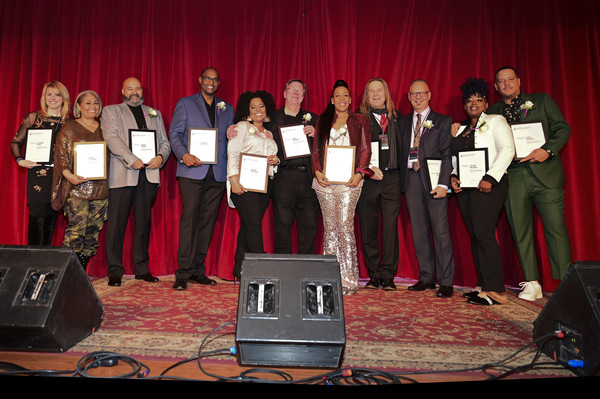Member Celebration In Philadelphia [event,music,talent show,performance,musical ensemble,musician,stage equipment,lauren hart,dyana williams,craig white,david ivory,terry jones,marc dicciani,ron kerber,l-r,philadelphia,member celebration]