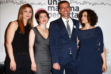 Ivan Cotroneo 'Una Mamma Imperfetta' Cast Poses in Milan