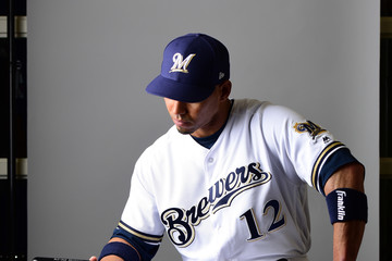 Ivan DeJesus Milwaukee Brewers Photo Day