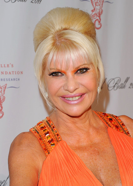 ivana trump pictures   2011 angel ball to benefit
