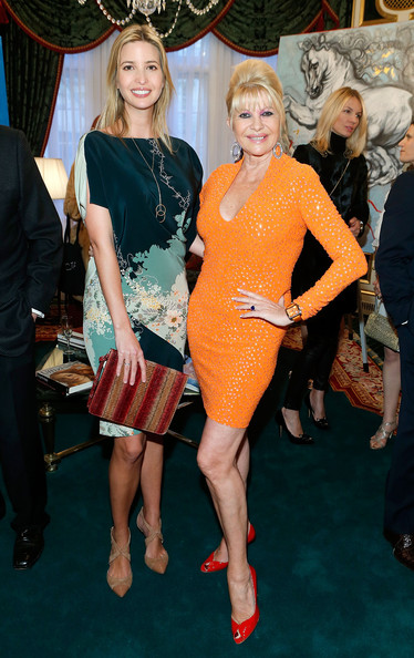 Ivana Trump Photos Photos Giovanni Perrone S Art Exhibition In Nyc