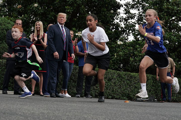 Ivanka Trump President Trump Hosts White House Sports And Fitness Day