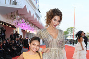"""Sophia Abraham and Farrah Abraham walk the red carpet ahead of the """"J'Accuse"""" (An Officer And A Spy) screening during the 76th Venice Film Festival at Sala Grande on August 30, 2019 in Venice, Italy."""