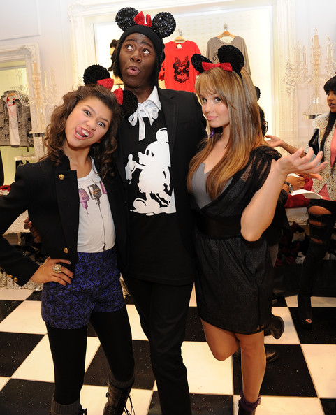Zendaya Coleman and J. Alexander - Forever 21 VIP Event With Minnie Mouse And Guests