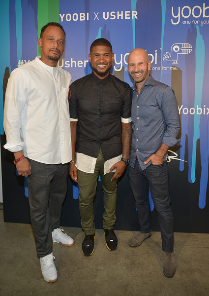 J irving photos photos guests attend the yoobi x usher vip launch guests attend the yoobi x usher vip launch event m4hsunfo