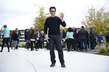 J.J. Abrams Apple Holds Product Launch Event In Cupertino