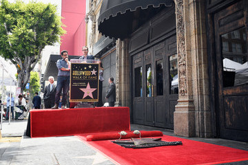 J.J. Abrams Keri Russell Honored with a Star on the Hollywood Walk of Fame