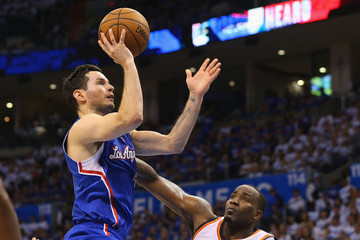 J.J. Redick Los Angeles Clippers v Oklahoma City Thunder - Game Two