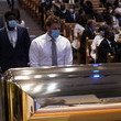 J.J. Watt Private Funeral For George Floyd Takes Place In Houston