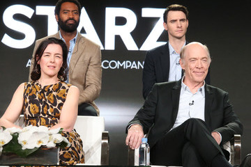 J.K. Simmons Harry Lloyd 2018 Winter TCA Tour - Day 9