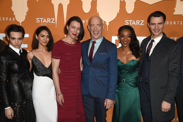 J.K. Simmons Harry Lloyd Premiere Of Starz's 'Counterpart' Season 2 - Red Carpet