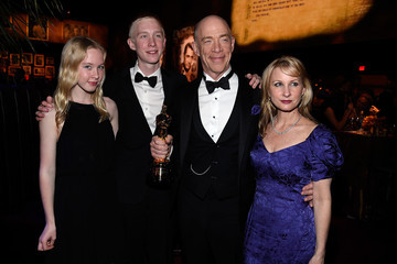 J.K. Simmons Michelle Schumacher 87th Annual Academy Awards Governors Ball