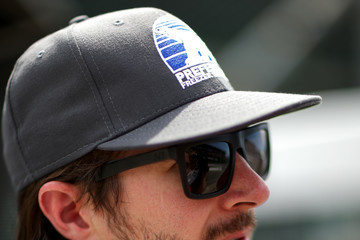 J R Hildebrand 101st Indianapolis 500 - Carb Day