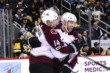 J.T. Compher Colorado Avalanche v Pittsburgh Penguins
