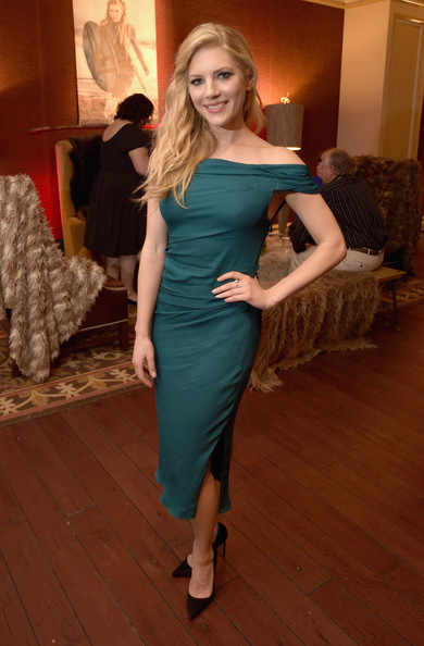 Actress Katheryn Winnick attends the JAN 2015 TCA History Vikings Party on January 9, 2015 in Pasadena, California.