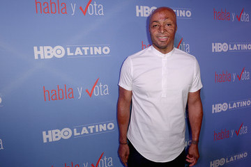 JR Martinez HBO Latino 'Habla Y Vota' Red Carpet Premiere