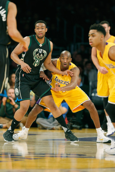 Jabari Parker Photos Photos - Milwaukee Bucks v Los ... Jabari Parker Lakers