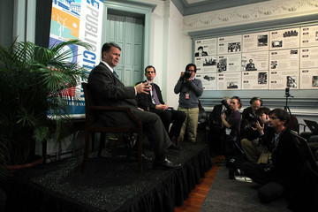Robert Weissman Jack Abramoff Takes Part In Discussion On Money And Politics