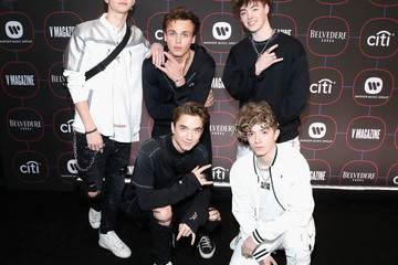 Jack Avery Warner Music Pre-Grammy Party - Red Carpet