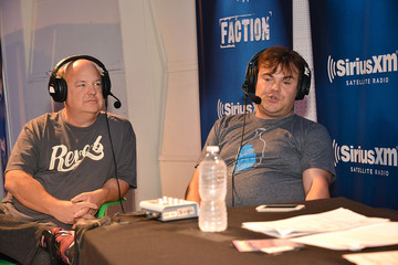 Jack Black Tony Hawk Celebrates 10th Anniversary of SiriusXM Radio Show